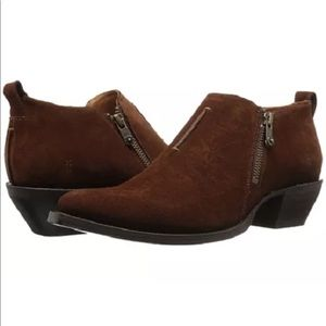 Frye Sacha Moto Shootie Ankle Boots Size 5.5 NEW